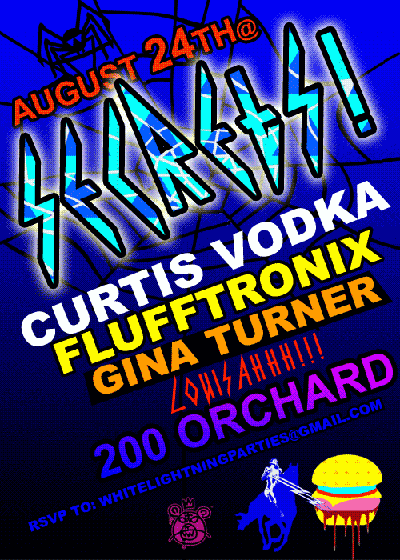 Kurtis Vodka Flyer