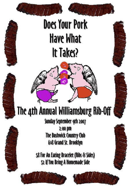 4th Annual Rib-Off