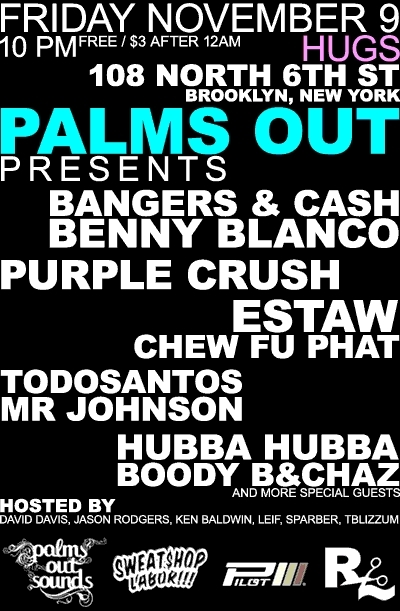 Palms out Nov Party